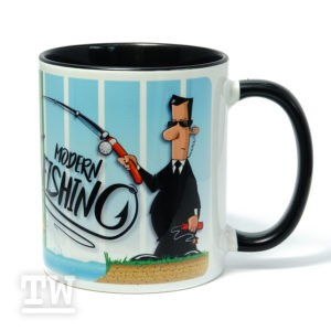 Motivtasse - Modern Fishing